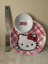 Antique Hello Kitty Collectable Plate