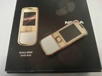 Nokia 8800 Arte GOLD 100% Authentic -  (Unlocked) Cellular Phone