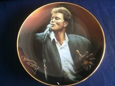 """Danbury Mint Cliff Richard 40 Glorious Years """" The One & Only Cliff """" plate"""