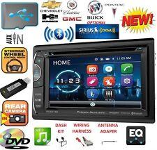 GM CAR-TRUCK-VAN-SUV Cd Dvd AUX USB CAR Bluetooth Radio Stereo OPTIONAL SIRIUSXM