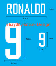 RONALDO #9 Brazil Away WORLD CUP 2002 PU NAME NUMBER PRINT