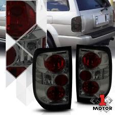 Chrome/Smoke *EURO ALTEZZA* Tail Light Rear Brake Lamp for 96-04 Pathfinder/QX4