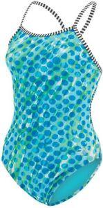 Dolfin Uglies Women's Size 26 String Back One Piece Swimsuit Spottie, 26