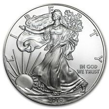 American Argent Silver Eagle 2010 1 Oz 999 Feinsilber Argent pièce US Comme neuf