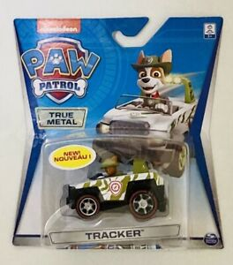 NIB Nicklelodeon Paw Patrol True Metal Car Toy - Jungle Tracker Vehicle