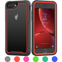 For Apple iPhone 6 7 8 Plus Heavy Duty Shockproof Hybrid Rugged Armor Case Cover
