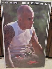 Original 2002 Vin Diesel Xxx large 35 x 22 movie poster Revolution Studios