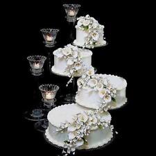 4 TIER CASCADE WEDDING CAKE STAND SPIRAL (STYLE R400-B)