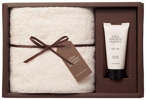 John Masters Organics Hair Milk & Senshu Face Towel Collaboration Set Made Japan