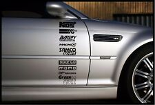 CAR DOOR STACK STICKERS GRAPHICS, ANY COLOUR / FREE P&P