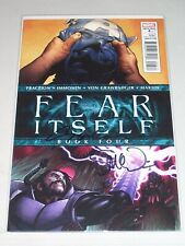 Fear Itself #4! (2011) Signed by Stuart Immonen & Steve McNiven! NM! COA!
