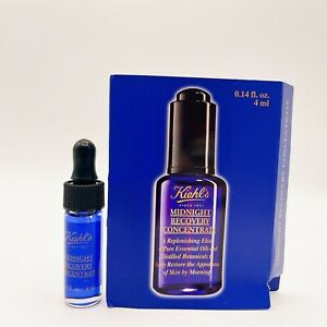 Kiehl's Midnight Recovery Concentrate .14 fl oz 4 ml Travel Size