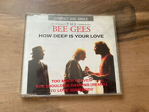 The Bee Gees How Deep Is Your Love CD Single