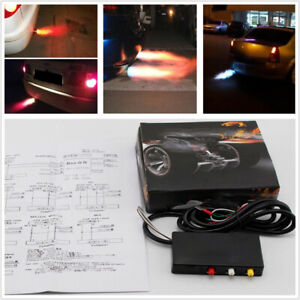 Universal Car SUV Aircraft Exhaust Flame Thrower Kit Fire Burner Afterburner 1PC