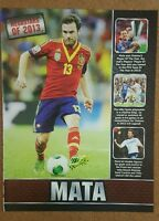 MATCH Football Magazine Annual player picture - VARIOUS (Lot 003)