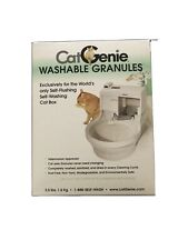 SEALED CatGenie Washable Granules Case (Total 3.5 lbs)
