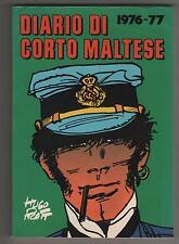 Hugo Pratt DIARIO DI CORTO MALTESE mondadori 1976-77