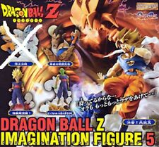 Dragonball Z Imagination Gashapon Figure Part 5 Set of 4