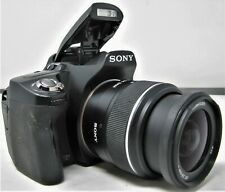 Sony DSLR-A390 Camera w/ Sony 18-55mm Sam F3.5-5.6 Lens