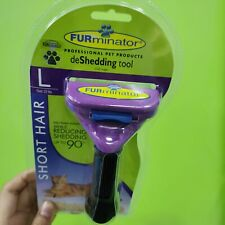 Furminator Shorthair deShedding Tool for Large Cats new product& fast shipping.