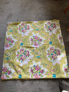 World Market Barkcloth Shower Curtain