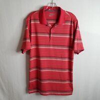 Nike Golf Mens Tour Performance Striped Dri-Fit Polo Shirt Size Small T302