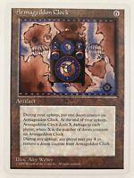 ⭐️ Armageddon Clock Fallen Empires set card MTG Magic: The Gathering 1995 🎏