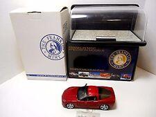 Franklin Mint   '2005 Red Chevrolet Corvette C6'   W/ Show Case  1/24  #B11C590