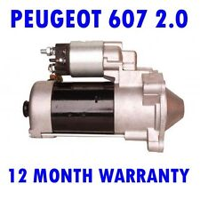 PEUGEOT 607 2.0 HDI 2005 2006 2007 2008 2009 2010 - 2015  STARTER MOTOR