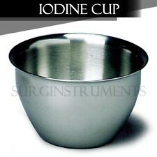 """Iodine Cup Surgical Medical Equipment Dental Instrument 3"""""""