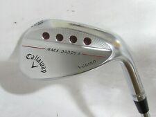 Used RH Callaway Mack Daddy 4 X-Grind 58.12* Single Wedge - Stiff Flex Steel