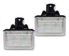 LED 2x 18SMD Mazda 6 CX7 Kennzeichenbeleuchtung Nummernschild CAN-Bus 6000K Set