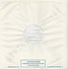 "Vintage INNER SLEEVE or SLEEVES 12"" POLYDOR lined v10 PLASTIC BAGS 15804 ### x 2"