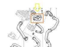 TUBO TURBO ARIA INTERCOOLER RENAULT DACIA CLIO MODUS KANGOO 1500 DCI 8200404193