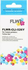 FLWR CLI-526Y Yellow Compatible Cartridge for FLWR Canon NON OEM