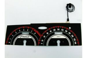 Honda Prelude 4 gen. glow gauges dials plasma dials kit tacho glow dash shift in