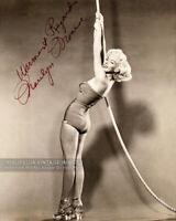 "Vintage 1950s ""Warmest Regards MARILYN MONROE"" Autographed Photo Signed Reprint"