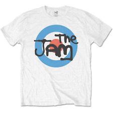 The Jam-Mod Target Logo-2X  White T-shirt