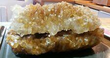 gem très belle pierre cristal de quartz avec matrice (30 cm~4kg) poche rare