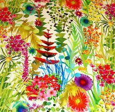 Liberty Belgravia Silk Satin fabric  Spring Tresco