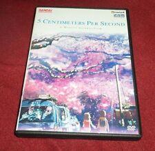 5 Centimeters Per Second RARE OOP Bandai/Crunchyroll DVD Makoto Shinkai five cm
