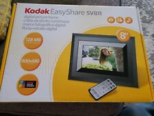 "Kodak Easy Share SV811 8"" Digital Picture Frame - 128MB"
