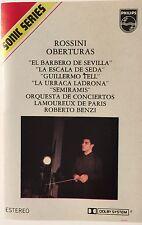 Rossini Oberturas Sonic Series Cassette Music Tape