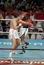 Old Boxing Photo Gerry Cooney Throws A Punch Against Michael Spinks