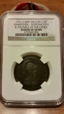 1791 Great Britain D&H-89 Half Penny- NGC VF 20 BN. Hampshire - Portsmouth