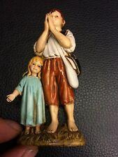 1 pastore landi 12 cm bimbi bambini  presepe crib shereped