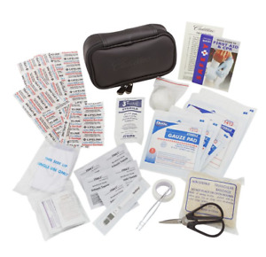 Factory Cadillac First Aid Kit Carrying Case Storage Logo Emergency OEM 84217916