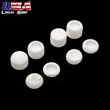 White 8xAceshot Accuracy Rised Rear Analog Thumb Grips for PS4 Game Controller