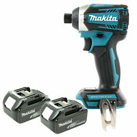 Makita DTD154 18V Brushless Impact Driver With 2 x 6.0Ah Batteries