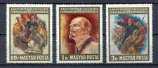 32266) HUNGARY 1967 MNH** Oct. Rev. Lenin 3v Scott# 1858/60